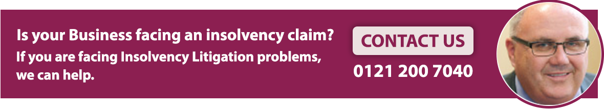 Insolvency Litigation Claims