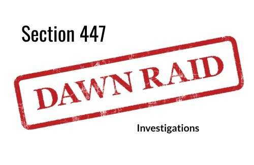 Section 447 Investigations (Companies Act 1985) – Inspectors Knocking on the Door Unannounced!